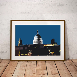St Pauls Cathedral by Maxine Walter