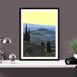 Tuscany by Maxine Walter