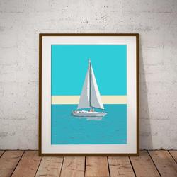 Sailing by Maxine Walter