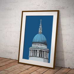 St Paul's Cathedral by Maxine Walter
