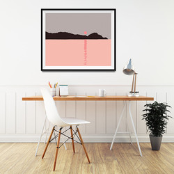 Coral Sunset - Prints from £5.00