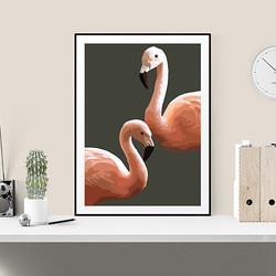 Flamingo by Maxine Walter