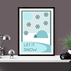 Let it snow by Maxine Walter