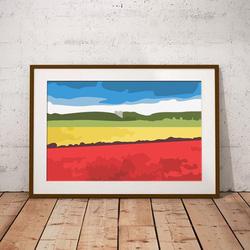Poppy Fields by Maxine Walter