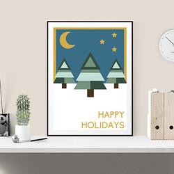 Happy Holidays by Maxine Walter