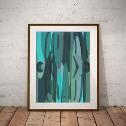 Aqua by Maxine Walter
