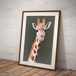 Giraffe by Maxine Walter