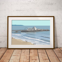 Bournemouth Pier by Maxine Walter