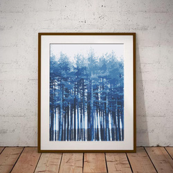 Blue Forest by Maxine Walter