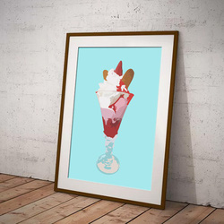 Ice Cream Sundae by Maxine Walter