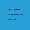 My  Favourites portfolio