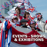 EVENTS, SHOWS & EXHIBITIONS