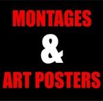 BUY A MONTAGE OR ART POSTER portfolio