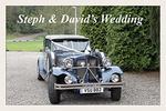 Steph & David's Wedding portfolio