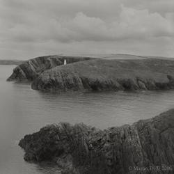 Pembrokeshire cliff studies portfolio