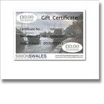 Gift Certificates portfolio