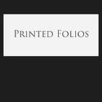 Printed Folios portfolio