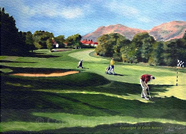 'Schawpark Golf Club, Alloa' - Landscapes