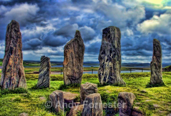 Callanish II - Retouched
