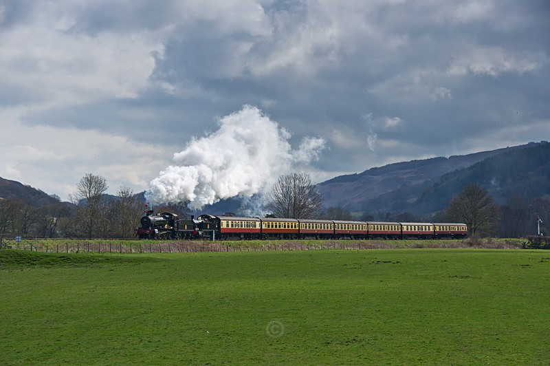 Passing through the Dee Valley - The Lure of Steam