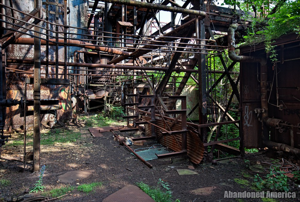 Carrie Furnaces (Rankin, PA) | A Riot of Leaves - Carrie Furnaces