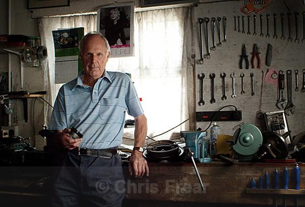 James Maxwell I - Workshop Portraits