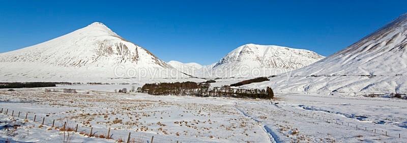 Beinn Dorain & Beinn a Chaisteil, Argyll & Bute - Panoramic format
