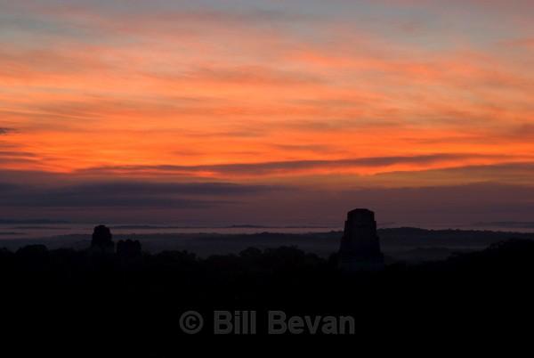 Sunrise - Tikal