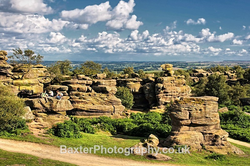 Nature's Playground - Brimham Rocks and  Bolton Abbey