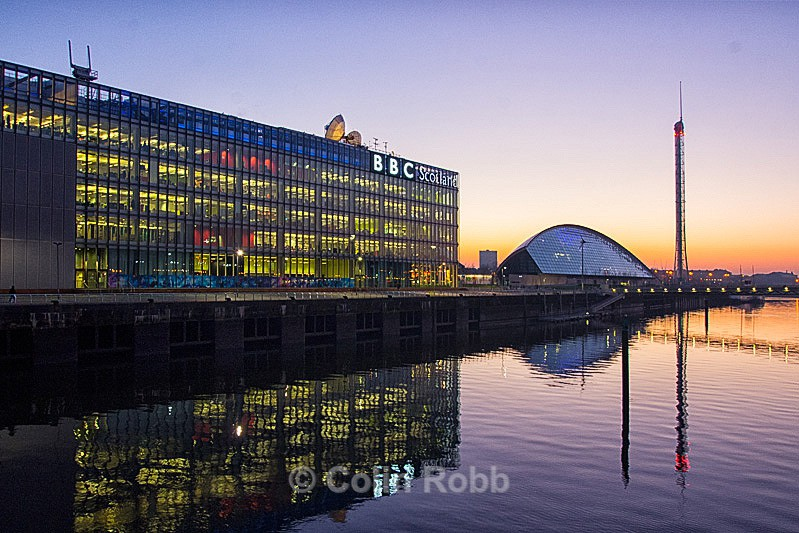 BBC Scotland | Science Centre | Tower | photo by Colin Robb