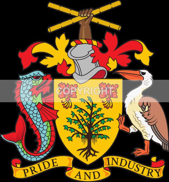Country of Barbados - Heritage Family Name and Coat of Arms Store
