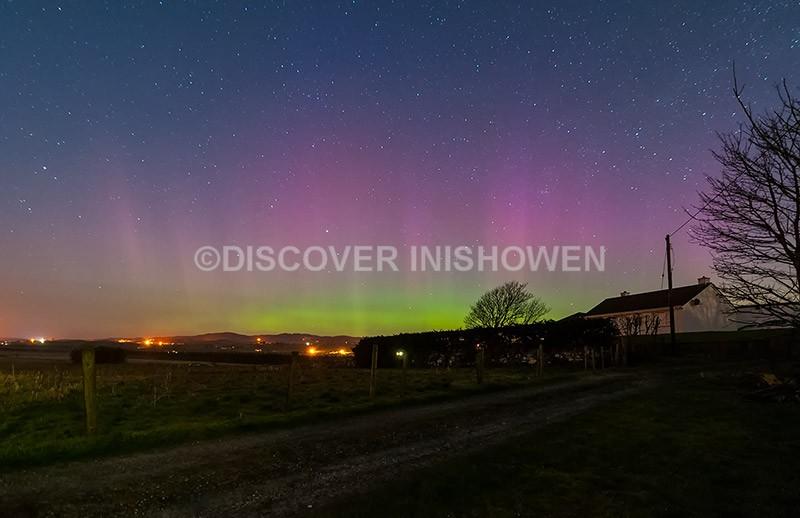 Malin Town - Aurora Borealis (Northern Lights)