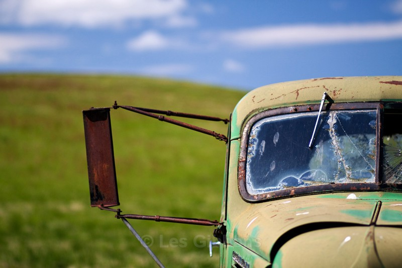 green car 2 - Palouse