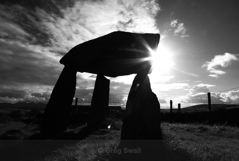 Legananny Dolmen - At the Foot of the Mountain