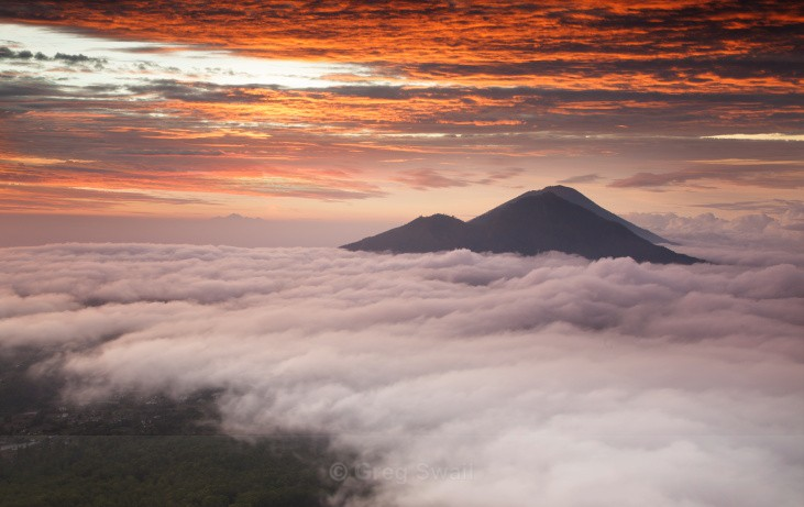 Red Dawn - Volcano Dawn (Bali and Beyond)