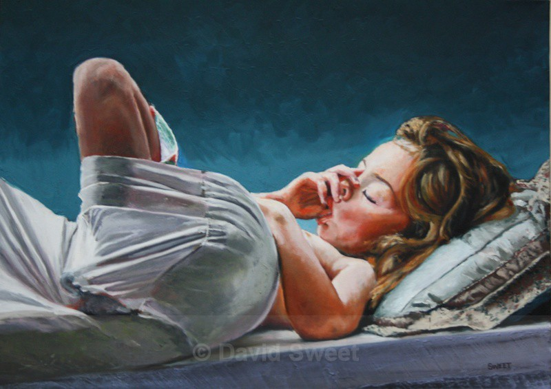 Chillin' - Oil Paintings