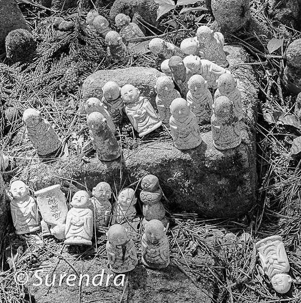 Nashinoki Jizo 13 - Jizo on Sado Island