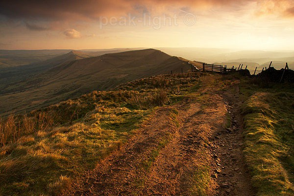 Along the Ridge - Peak District