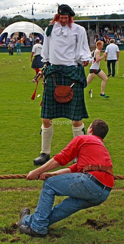 Highland Games - People