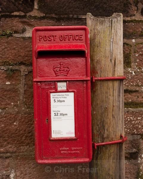 Scottish Post Box - Architectural/Interiors