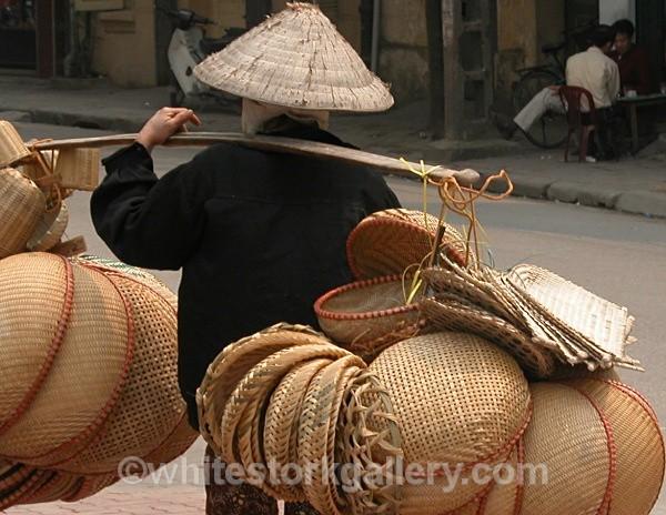Hat Seller, Vietnam - Asia