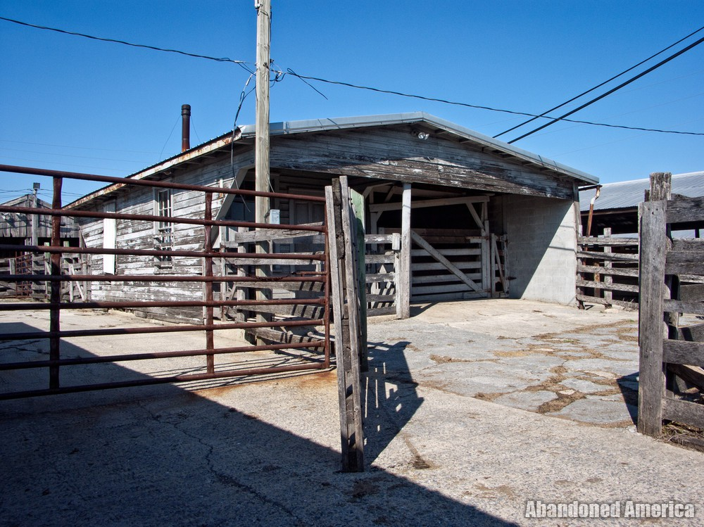 The Lancaster Stockyards | Weigh Station - Lancaster Stockyard