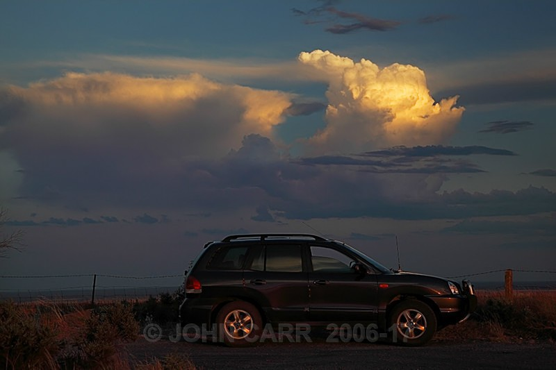 My Chase Car-0145 - STORM/CLOUD CHASE PHOTOS 23/1/2012