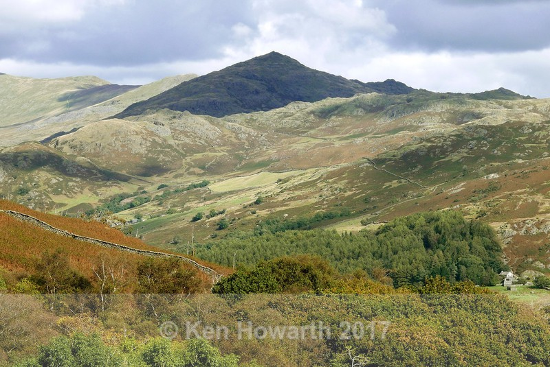 The Old Man of Coniston from Ulpha - Lakeland Landscapes
