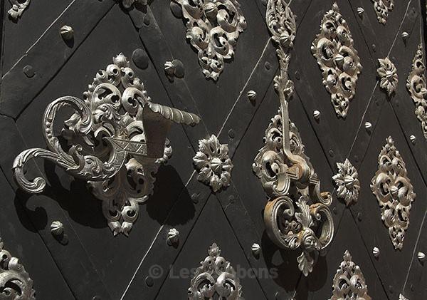 Ornate Door - Prague