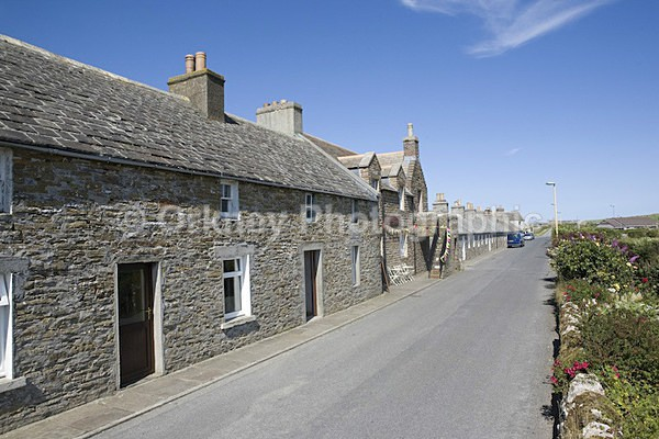 Shapinsay Village 2 - Orkney Images