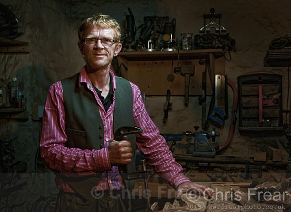 Philip Wilson II August 2015 - Workshop Portraits