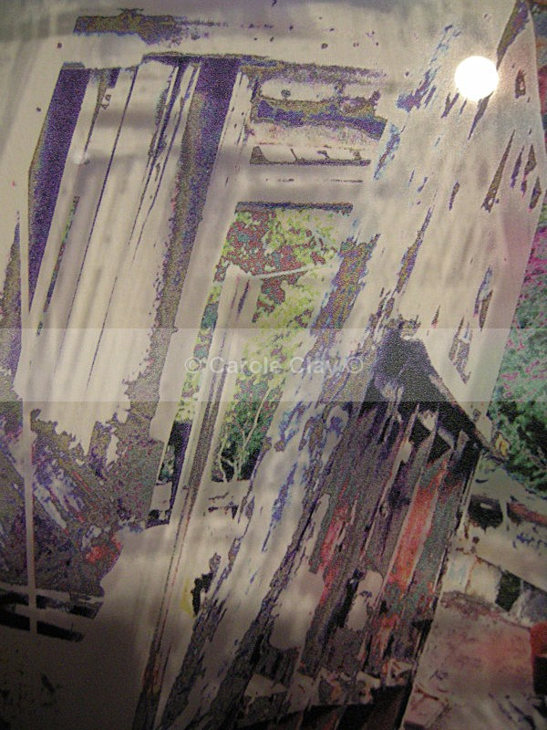 Derelict Boat 1 on Acrylic, detail - Substrate Gallery