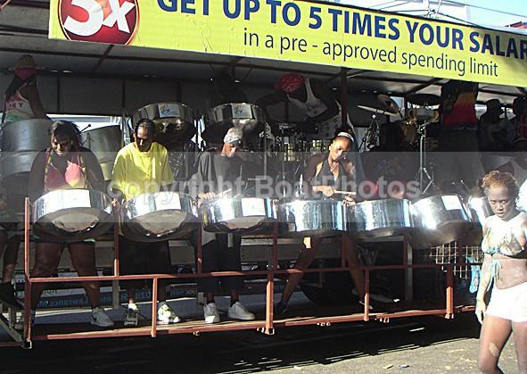 070213 Trinidad Carnival - Steel Band Float - ATLANTIC CROSSING 2006