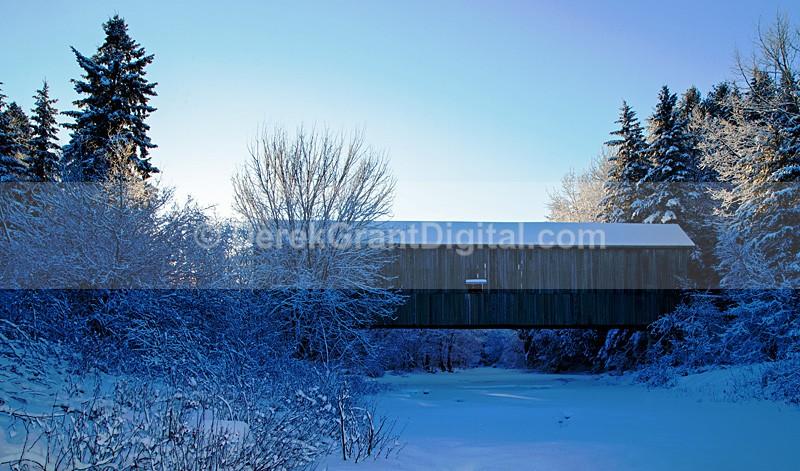 Moosehorn Creek Covered Bridge #1.5 - Covered Bridges of New Brunswick